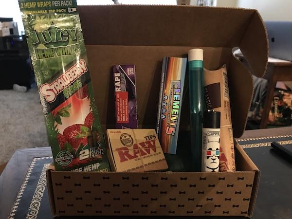 hippie butler box