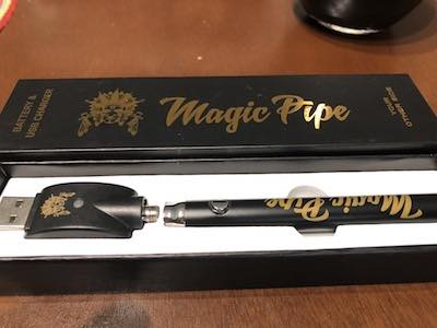 Cannabis Vape Review: Magic Pipe Cannabis Oils and