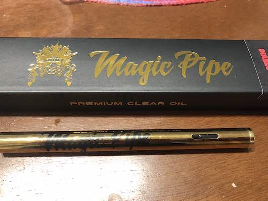 Cannabis Vape Review: Magic Pipe Cannabis Oils and Vaporizers • Ganjly