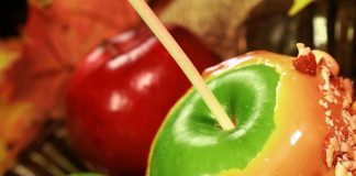 cannabis caramel apples