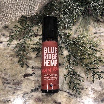 blue ridge hemp cbd infused roll on