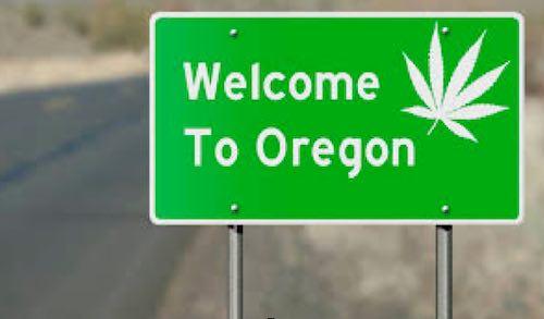 Oregon interstate pot commerce